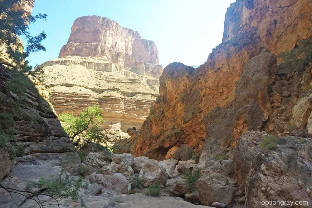 The short hike into Elves Chasm, Grand Canyon.