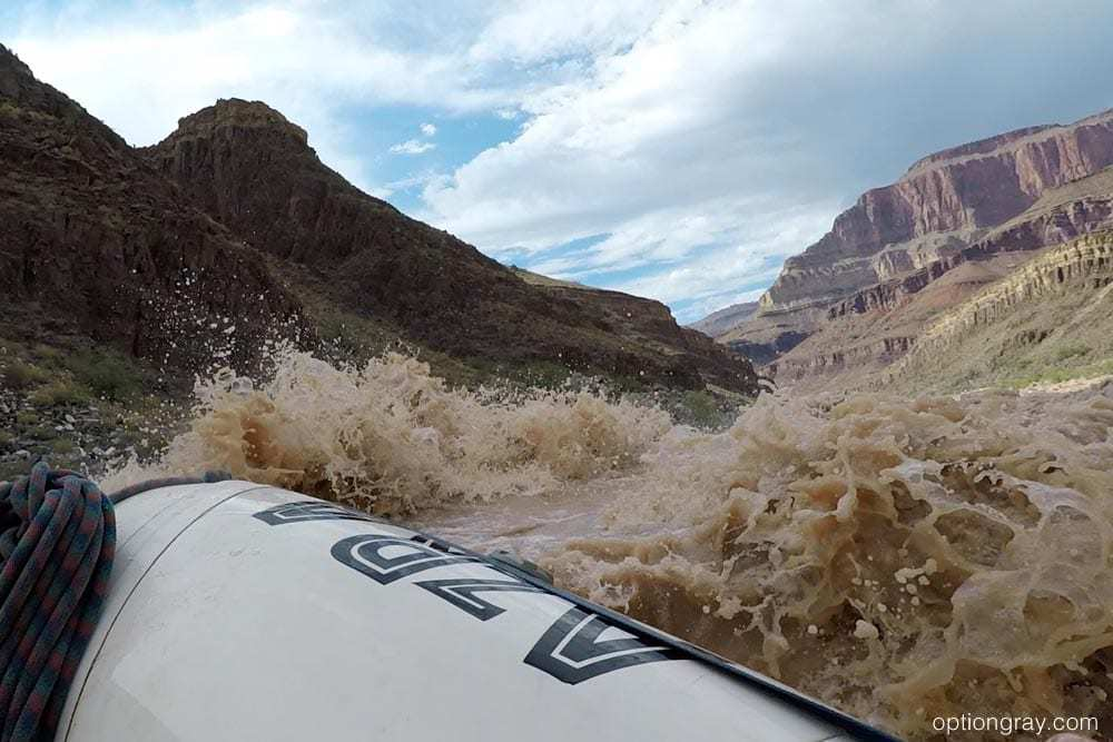 The Colorado River is cold, even in the heat of the Arizona summer.