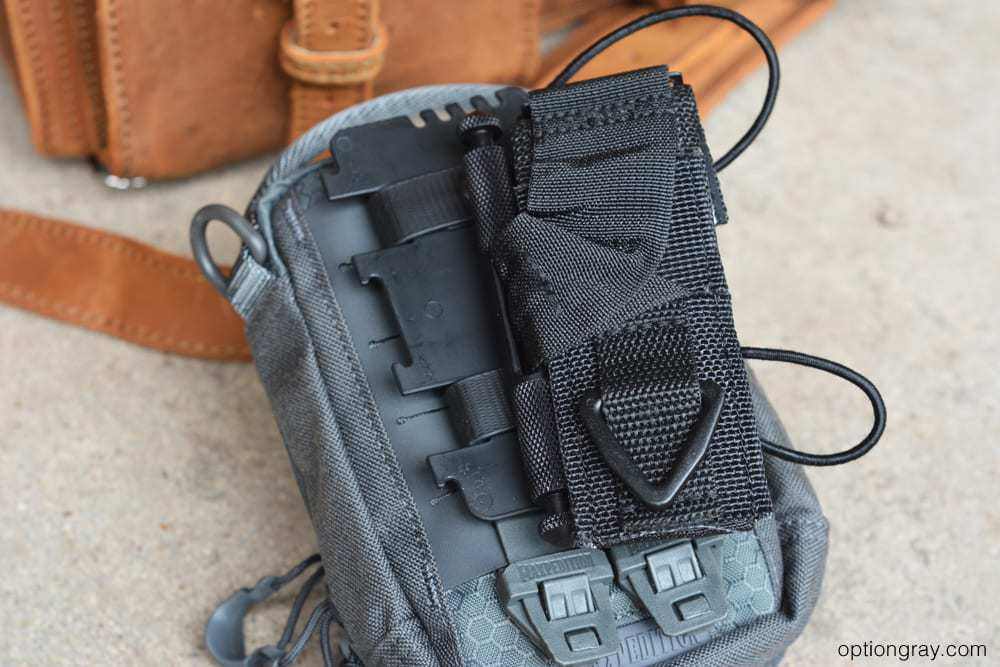 maxpedition organizer with tourniquet