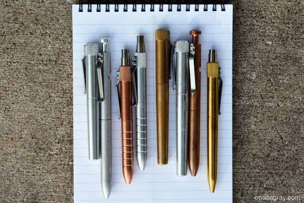 Karas Kustoms Pen Variety