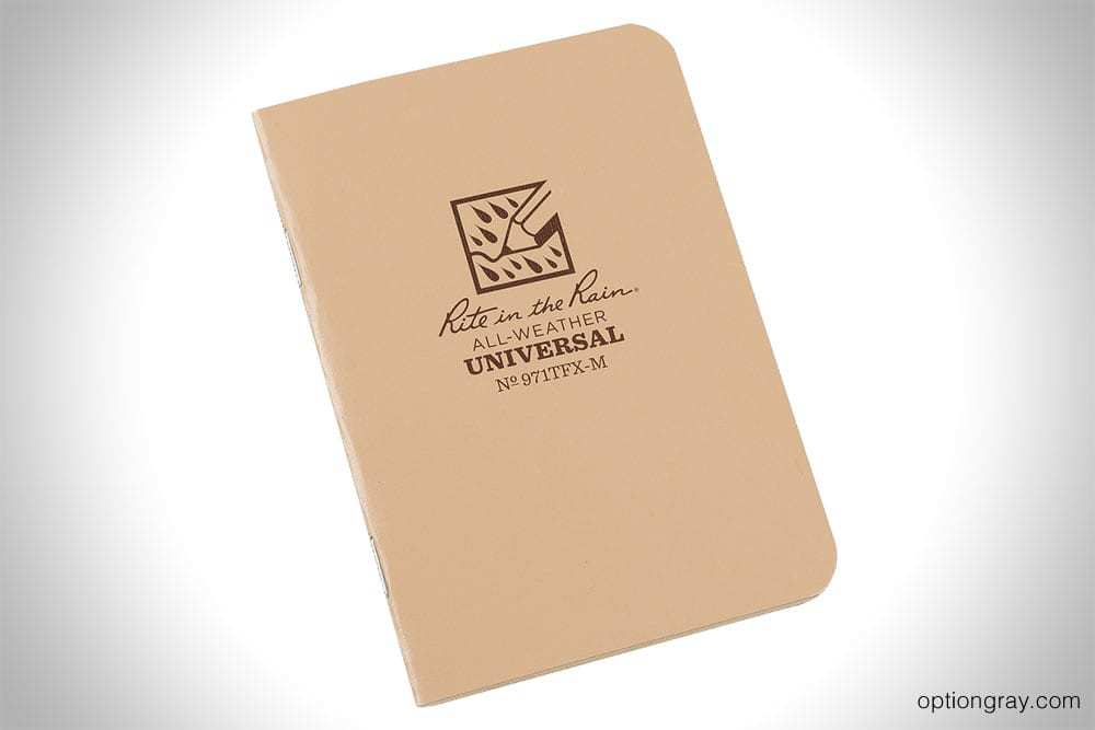 rite in the rain all-weather universal pocket notebook