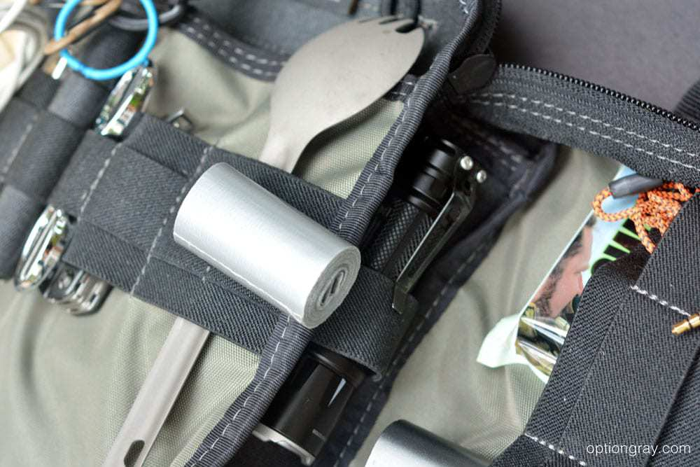 best glide mini survival duct tape and edc organizer