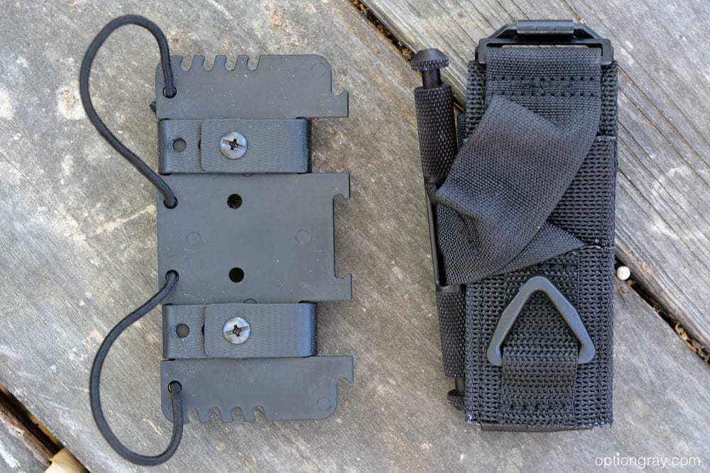"PHLster Flatpack Tourniquet Carrier with a Tactical Medical Solutions SOF Tactical 1.5"" Wide Tourniquet"