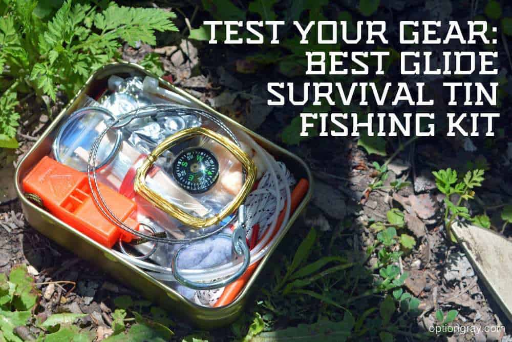 Best Glide Survival Tin Fishing Kit