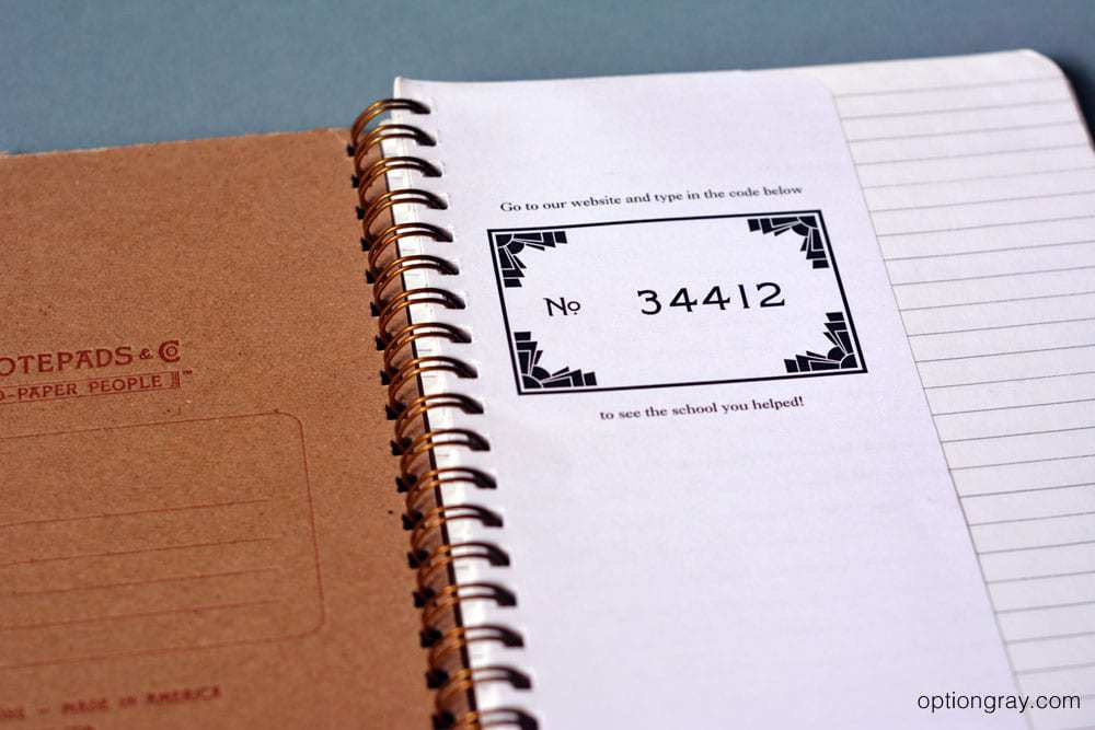 Write Notepads Traditional Ruled Notebook