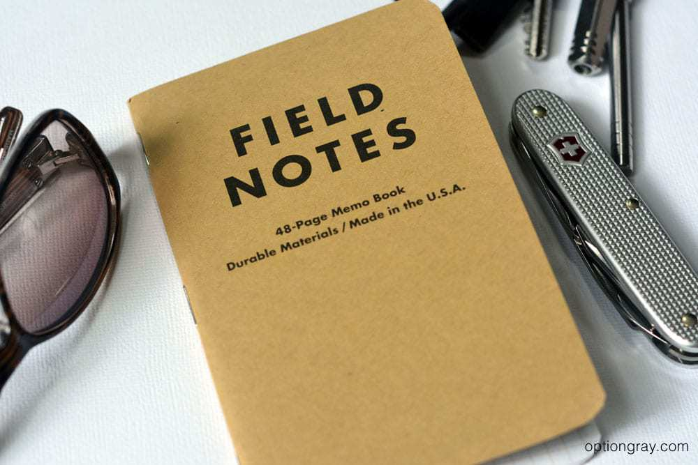 Field Notes Classic Notebook