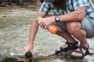 Grayl ultralight water purifer bottle