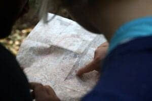 travel planning with a map