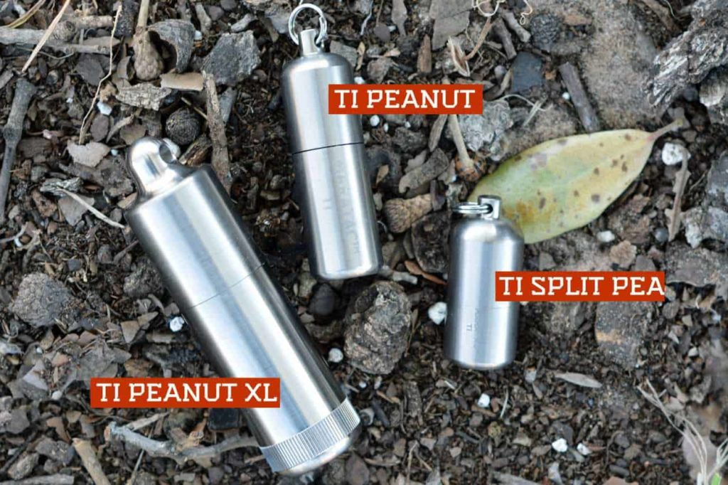maratac titanium peanut lighter, split pea, and peanut xl