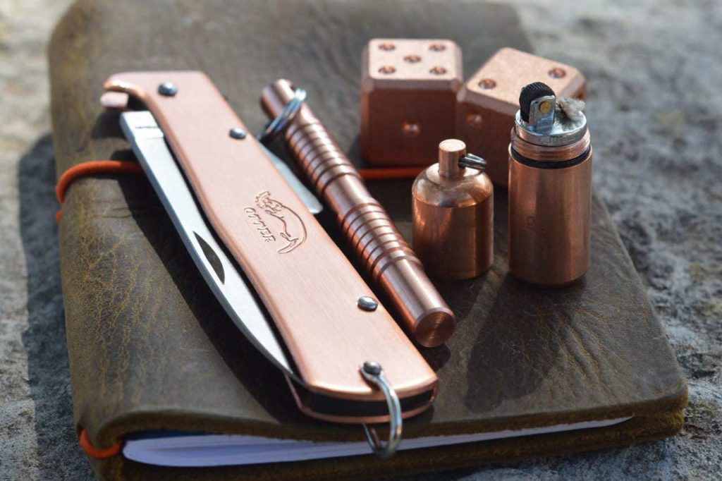 Copper maratac peanut lighter