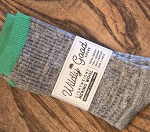 Wildly Good Treeline Socks