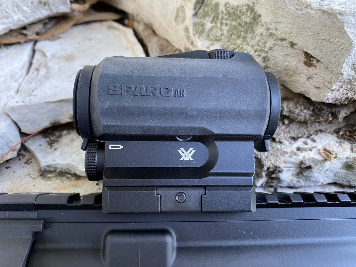 2MOA Bright Red Dot Sight Details about  /Vortex SPARC AR