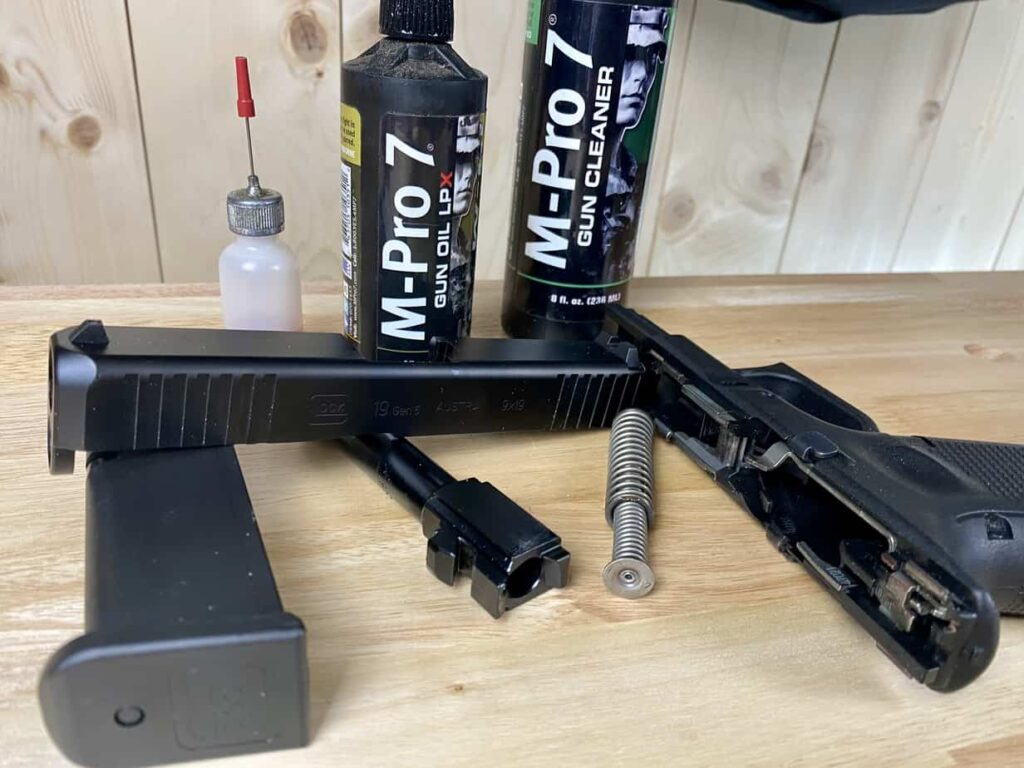 cleaning a concealed carry gun